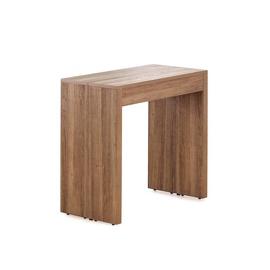 Halmar Samson Extension Table 42-198cm Walnut/Black