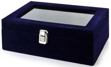 Lādīte Mondex Valentina Casket Blue 27.5x18.5x10cm