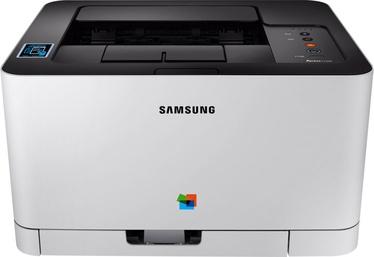 Лазерный принтер Samsung Xpress SL-C430W, цветной