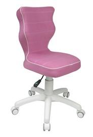 Bērnu krēsls Entelo Petit VS08 White/Pink, 370x350x830 mm