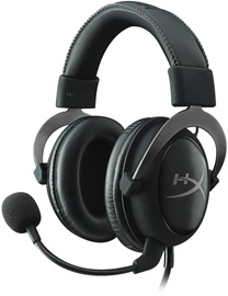 Ausinės Kingston HyperX Cloud II Pro Gun Metal