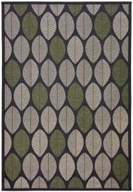 Kilimas Nature 3003/550 Black/Gray/Green, 140x70 cm