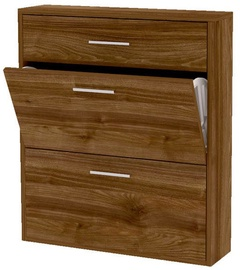 BogFran Shoe Shelf San Rio II Walnut