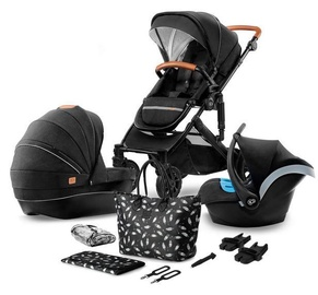 KinderKraft Prime Lite 3in1 With Bag Black