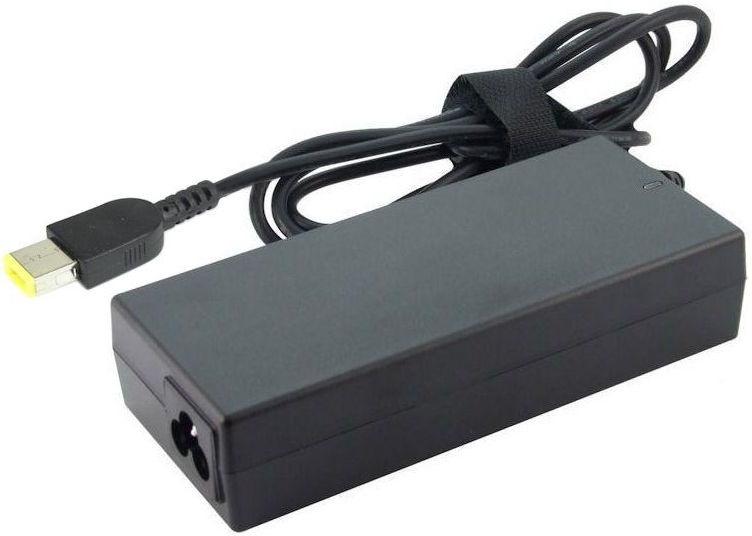 Qoltec Laptop AC Power Adapter For Lenovo Slim Tip 65W