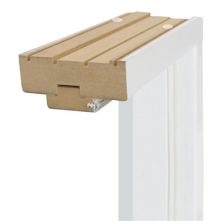 Ukseleng vasak vertikaalne valge 90x2150x100 mm