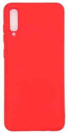 Evelatus Soft Touch Back Case For Samsung Galaxy A70 Red