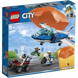 Конструктор Lego City Sky Police Parachute Arrest 60208