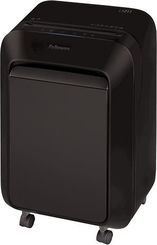 Уничтожитель бумаг Fellowes Powershred LX211 Micro-Cut Black, 2 x 12 mm