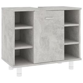 Шкаф для раковины VLX 802637, серый, 32 x 60 см x 53.3 см
