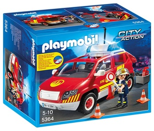 Konstruktors Playmobil Fire Chief's Car with Lights and Sound 5364