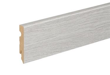 SN Skirting Board 549987 FU084L 2400x80x15mm Grey Oak