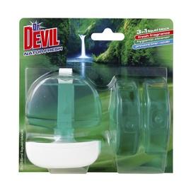 Unitazų želė Dr. Devil Natur Fresh, 3 x 55 ml