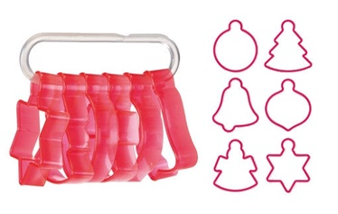 Tescoma Delicia Advent Calendar Cookie Cutters 6pcs