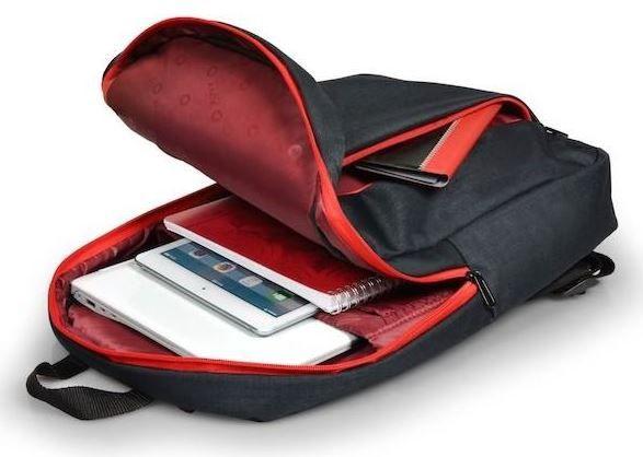 """Port Designs Backpack 15.6"""" Black"""