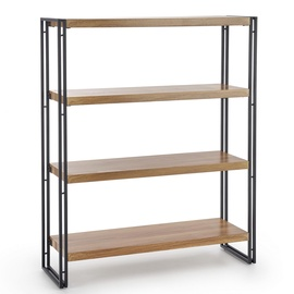 Halmar Bolivar REG-1 Shelf Golden Oak/Black