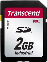 Transcend 2GB Industrial Temp SDHC Card