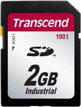 Transcend 2GB Industrial Temp SDHC Card