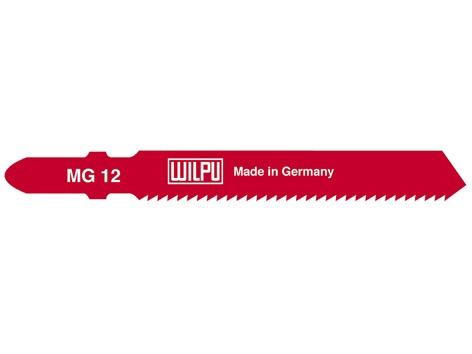 Asmeņu komplekts finierzāģim Wilpu MG 12 /T118B, 5gab.