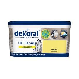 Krāsa fasādēm Dekoral Polinit, 1 l, smilšu krāsā