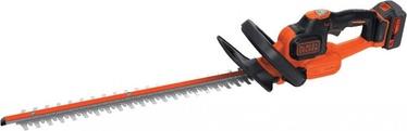 Akumuliatorinės gyvatvorių žirklės Black & Decker GTC18504PC