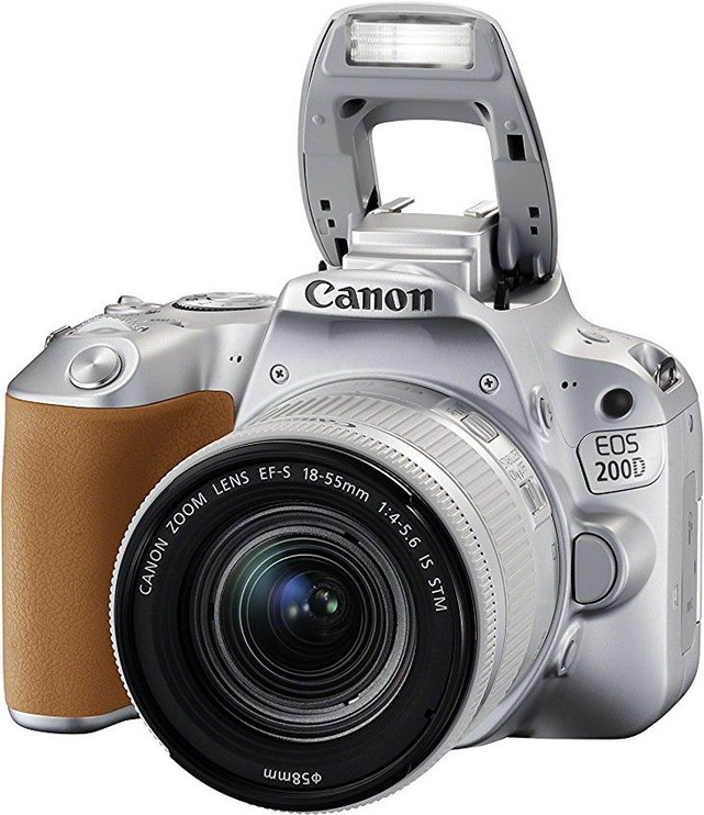 Canon EOS 200D + EF-S 18-55mm 4-5.6 IS STM Silver