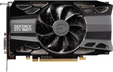 EVGA GeForce GTX 1660 Ti XC Black GAMING 6GB GDDR6 PCIE 06G-P4-1261-KR
