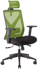 Biroja krēsls Home4you Mike Black/Green