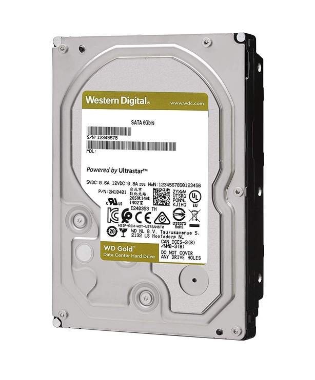 Western Digital Gold 14TB Enterprise Class SATA 512MB WD102KRYZ