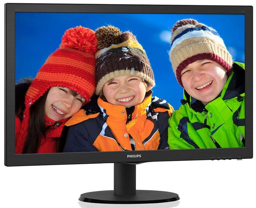 "Monitorius Philips 223V5LHSB2/00, 21.5"", 5 ms"
