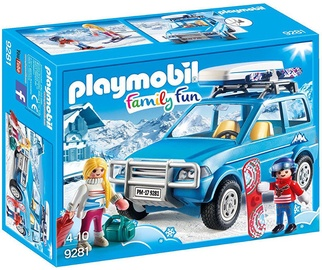 Playmobil Family Fun Winter Suv 9281