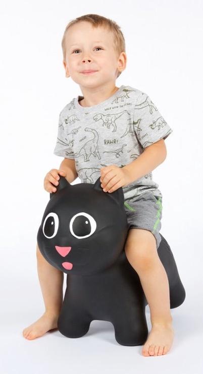 Tootiny Hoppimals Jumping Cat Black
