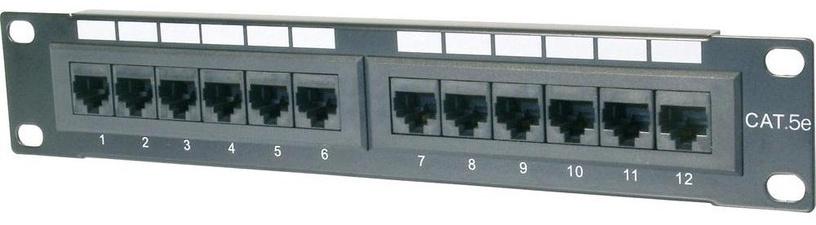 Lülitusseade Digitus CAT5e Class D Patch Panel 12-Port UTP DN-91512U