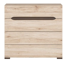 Black Red White Elpasso 41x90cm San Remo Oak
