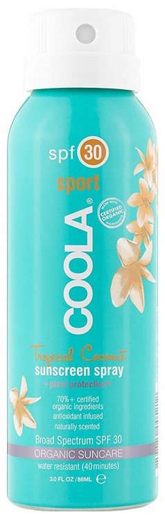Coola Sport Sunscreen Spray Tropical Coconut SPF30 88ml