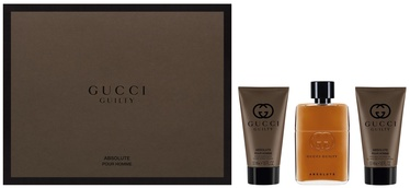 Gucci Absolute 50ml EDP + 50ml After Shave Balm + 50ml Shower Gel