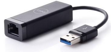Адаптер Dell SuperSpeed USB To Gigabit Ethernet Adapter Black