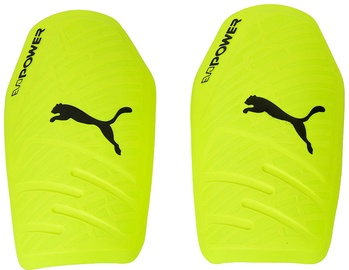 Puma EvoPower 1.3 Slip Shin Guards Yellow Light Blue L