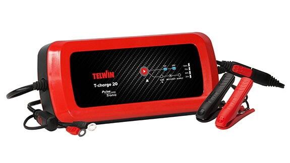 Lādētājs Telwin T-Charge 20 Evo, 12 - 24 V, 4 A