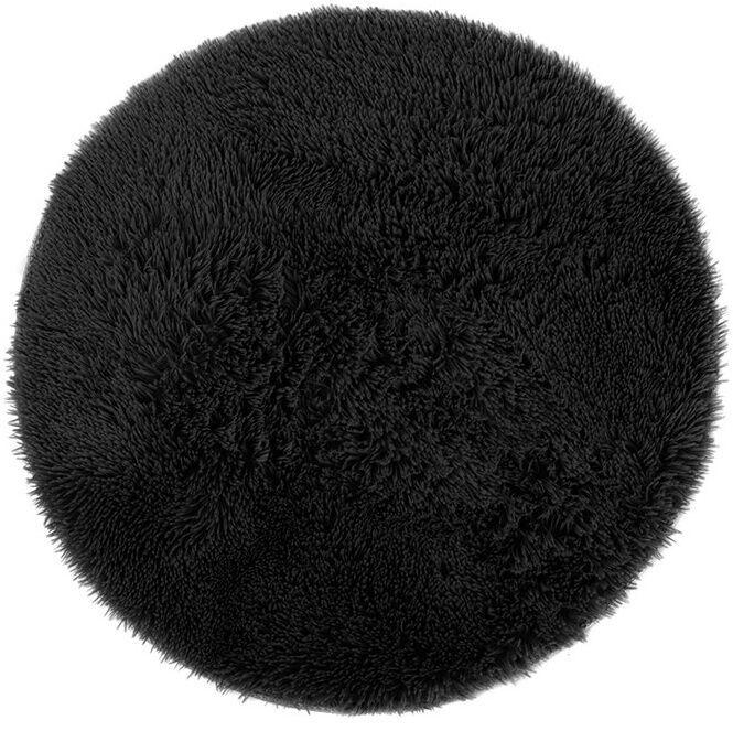 AmeliaHome Karvag Nonslip Rug 200x200 Black