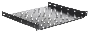 Netrack Equipment Shelf 19'' 1U/400mm Black