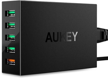 Aukey PA-T15 5x USB Quick Charge 3.0 Black