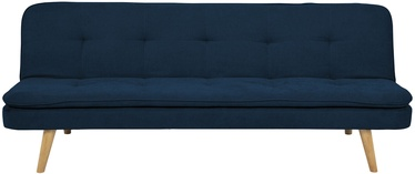 Home4you Bed Sofa Orvieto Dark Blue
