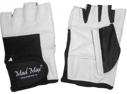 Mad Max Fitness Gloves White Black M