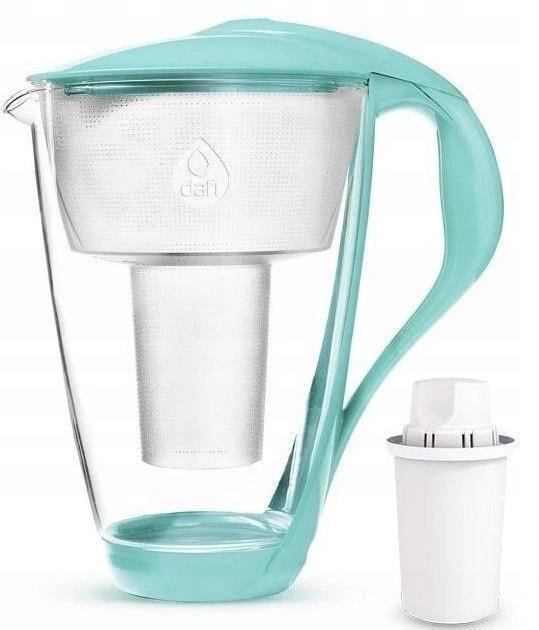 Dafi Crystal LED Filter Jug Mint