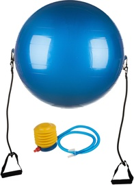 EB Fit Gym Ball With Expanders 65cm Blue