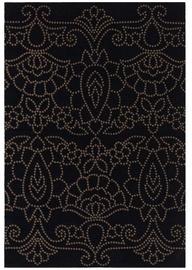 Ковер 4Living Auksinis Black/Gold, золотой/многоцветный, 140x200 см