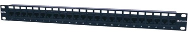 Intellinet Patch Panel 19'' UTP CAT 5e RJ45 x 24 Black