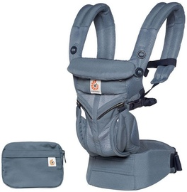 7fb2ff99e2a ErgoBaby Omni 360 Baby Carrier All-In-One Cool Air Mesh Oxford Blue