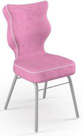 Детский стул Entelo Solo Size 4 VS08, розовый/серый, 340 мм x 775 мм